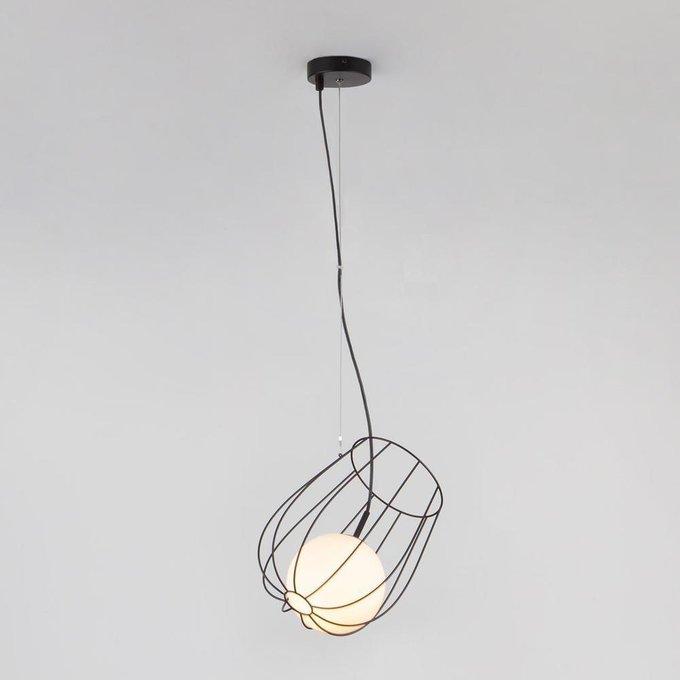 Подвесной светильник Basket из металла и стекла