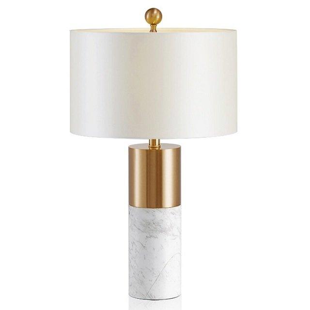 Настольная лампа Birmingam с белым абажуром