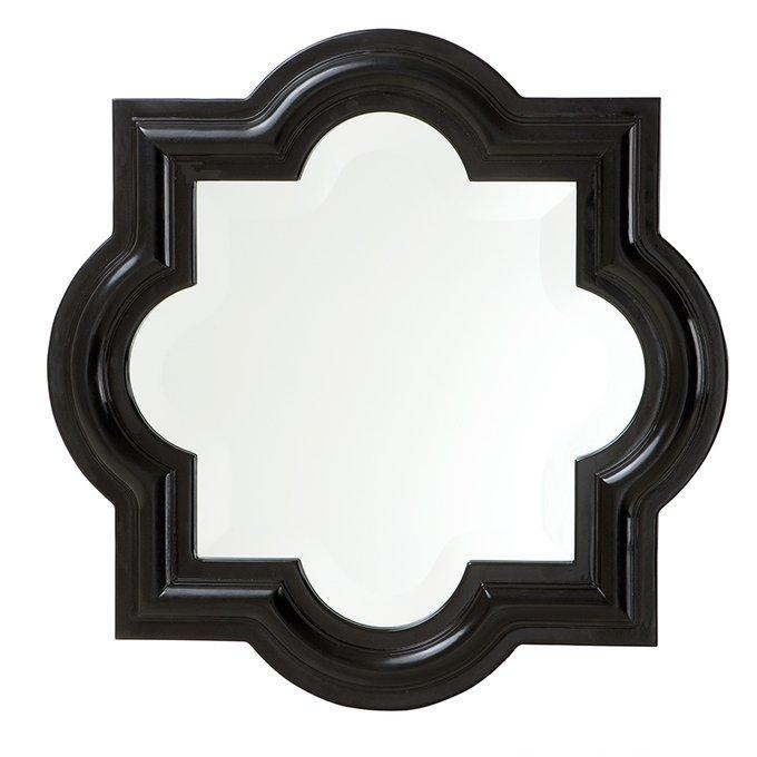 Зеркало Mirror Dominion в деревянной раме черного цвета