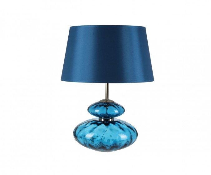 """Настольная лампа """"Crystal"""" голубая"""
