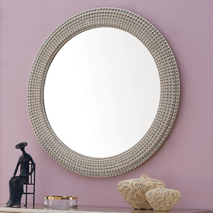 Зеркало Rimini в серебристом декоре
