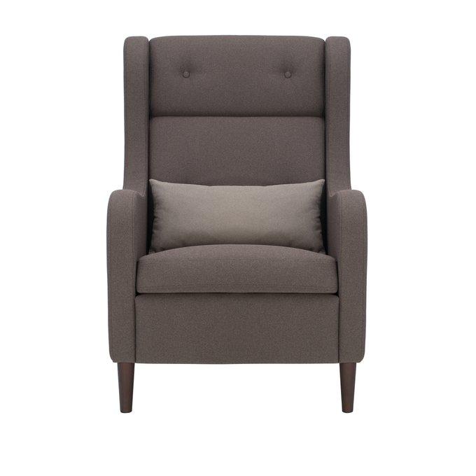 Кресло для отдыха Галант темно-коричневого цвета
