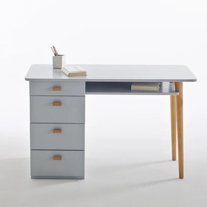 Письменный стол Jimi серого цвета