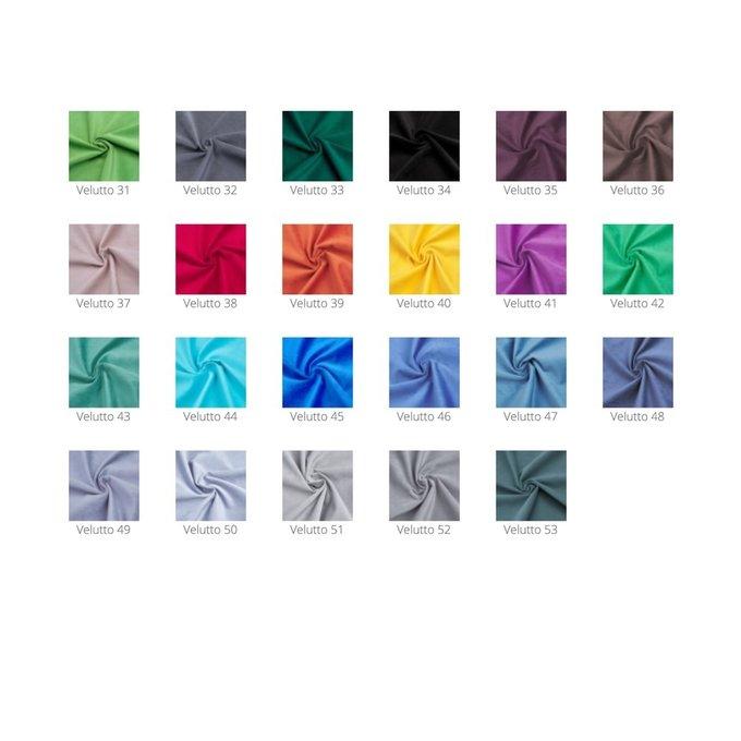 Пуф Kapri 2 мятного цвета