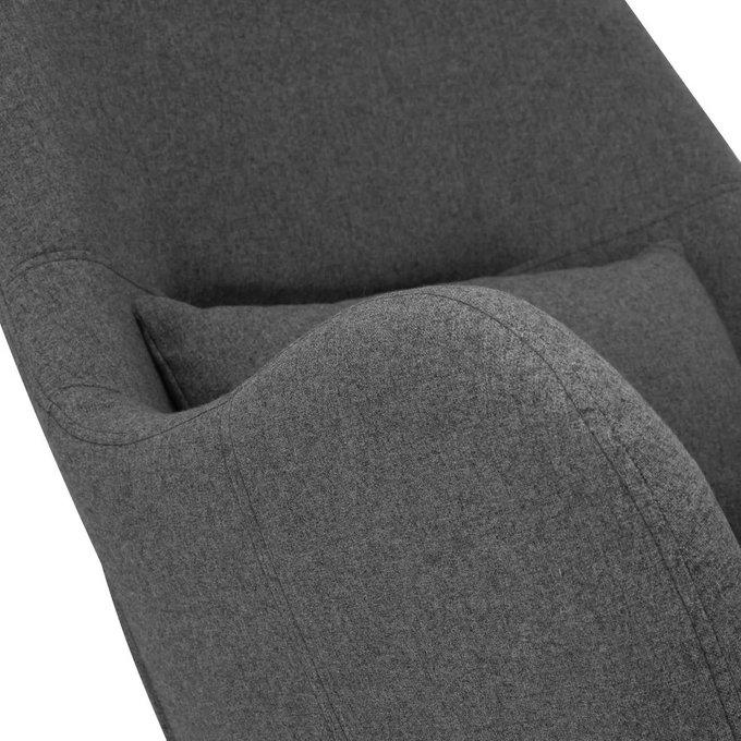 Кресло-качалка Duglas серого цвета