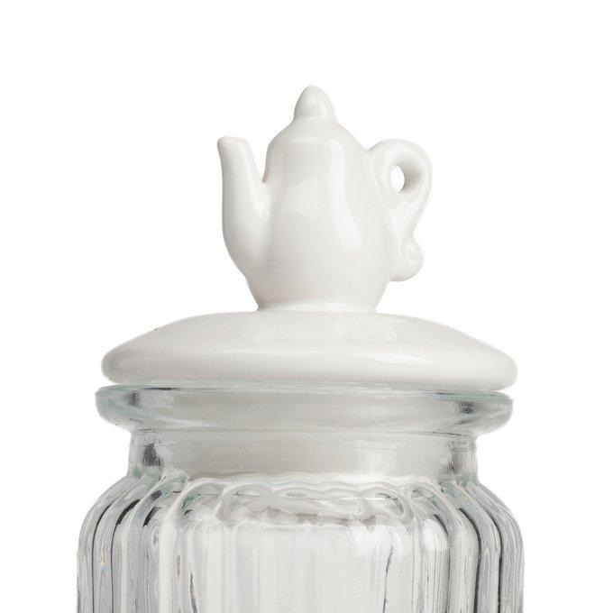 Декоративная банка с крышкой Teapot