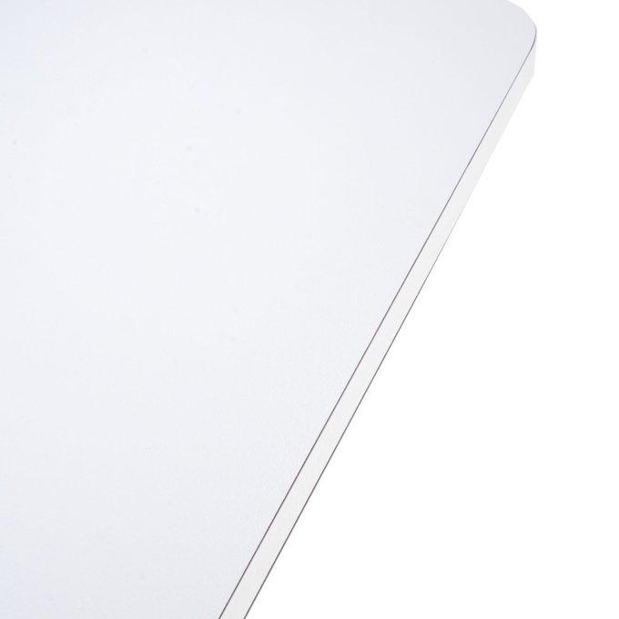 Стол офисный складной Spoon белого цвета