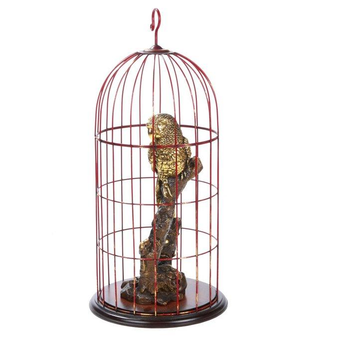 Скульптура Попугай Корелла