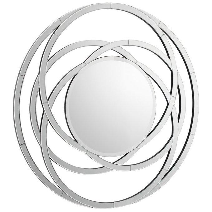 Декоративное настенное зеркало Galaxy с основанием из МДФ