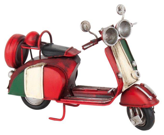 Модель скутер из металла