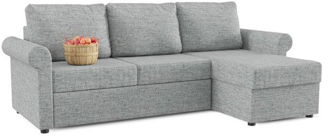 Угловой диван-кровать Верона серого цвета