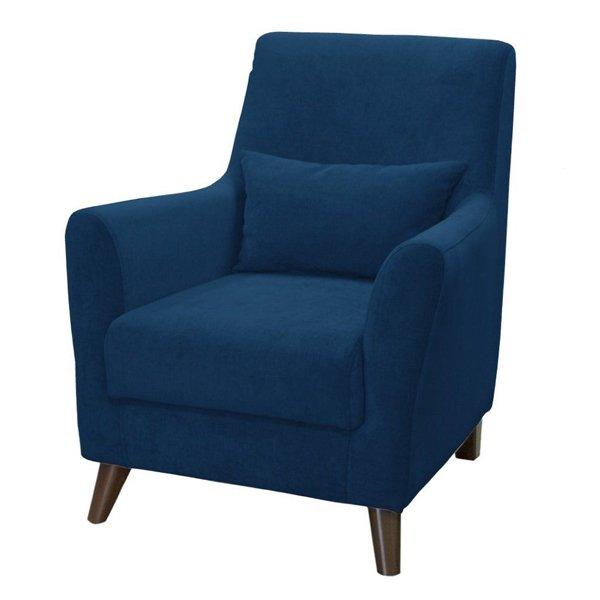 Кресло Либерти синего цвета