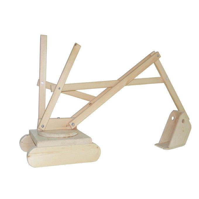 Игровой конструктор Экскаватор из дерева