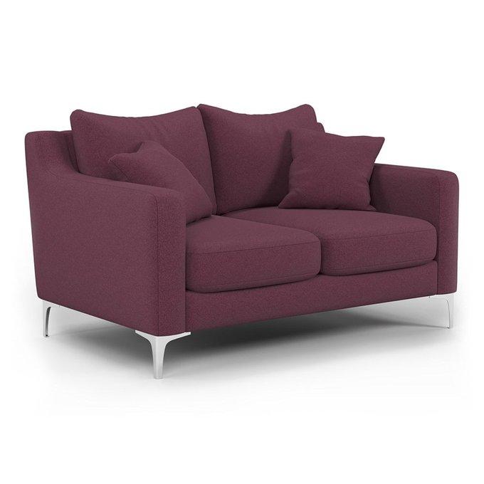 Двухместный диван Mendini ST бордового цвета