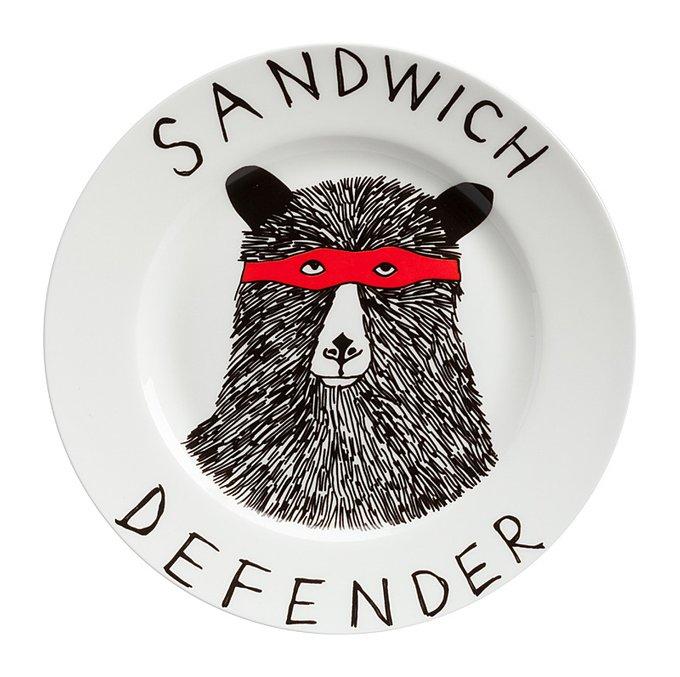 "Тарелка ""Sandwich Defender"""
