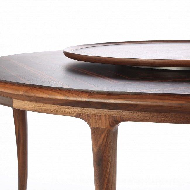 Обеденный стол Lusso ручной работы из американского ореха