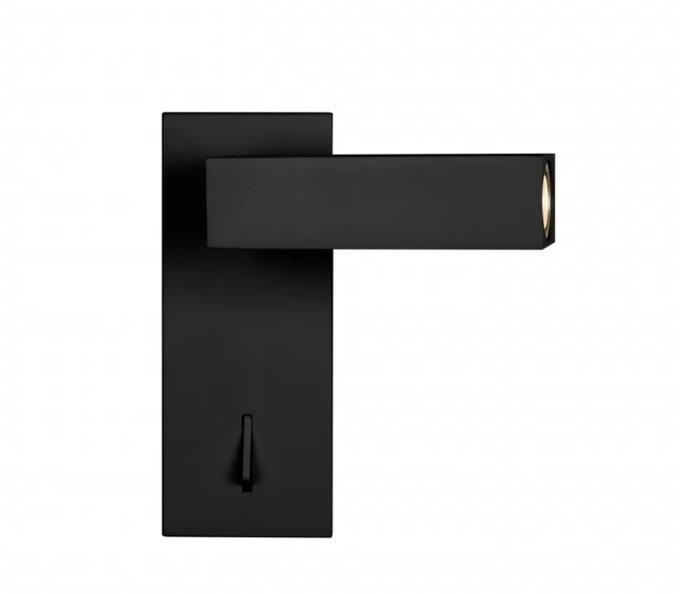 Настенный светильник Swag черного цвета