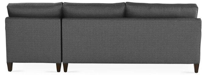Угловой диван Hoss серого цвета