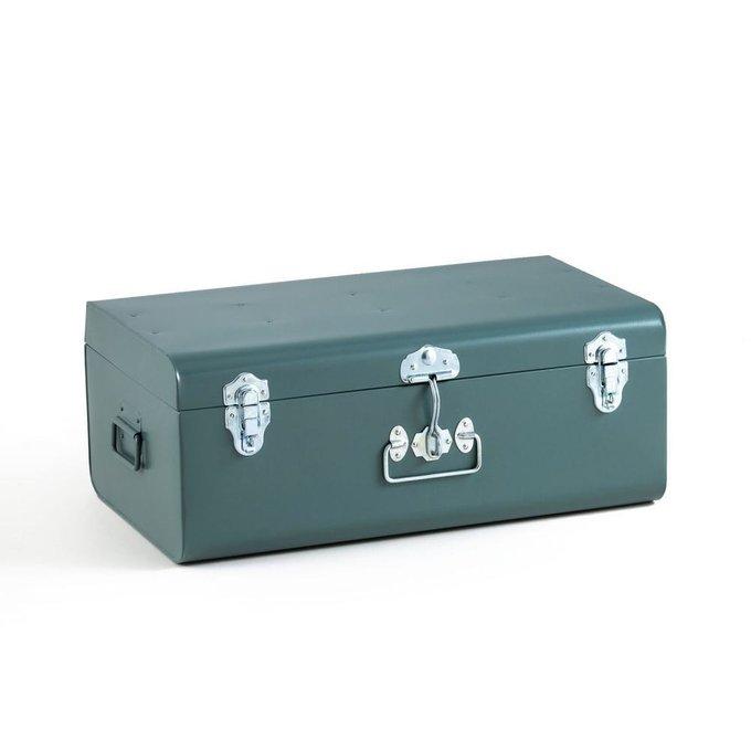Сундук-чемодан Masa сине-зеленого цвета