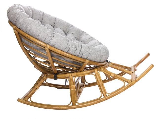 Кресло-качалка для отдыха Papasan Rocker Chair мед