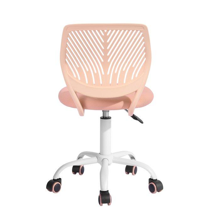 Кресло компьютерное детское Анна розового цвета