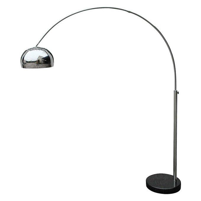 Напольная лампа Dustar из никелированного железа