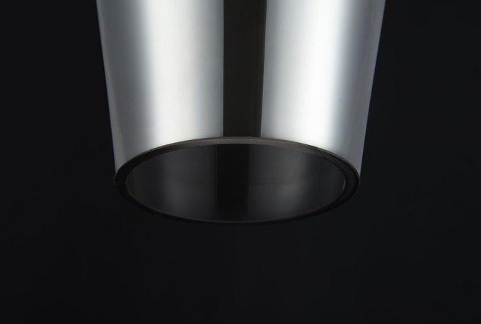 Подвесной светильник Lacrima из металла и стекла