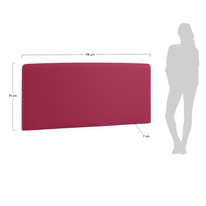 Изголовье Lydia 160 бордового цвета