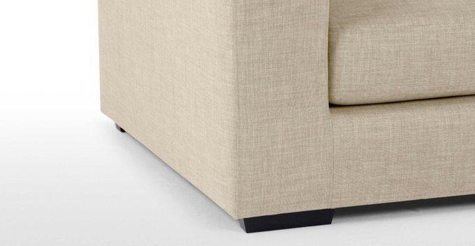 Трехместный раскладной диван Morti бежевый