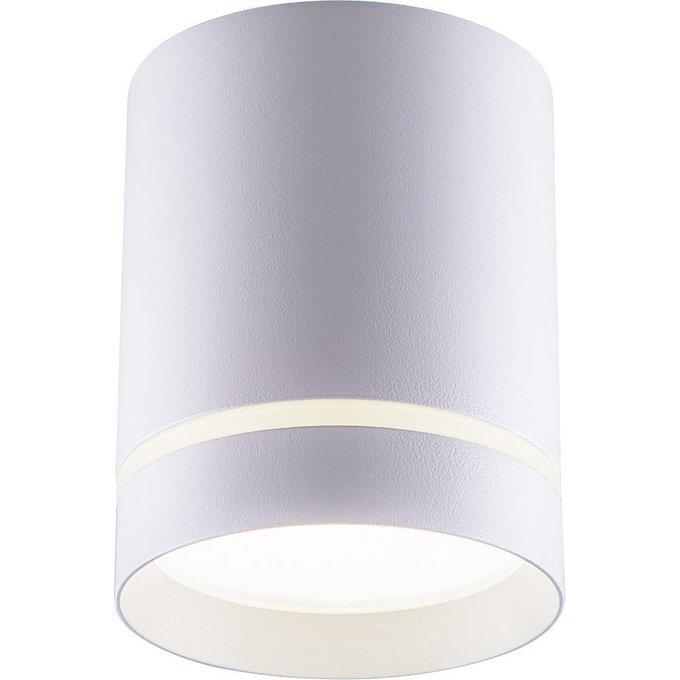 Потолочный светодиодный светильник из металла и полимера