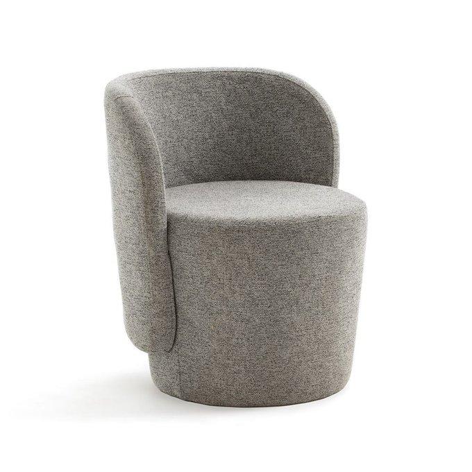 Компактное кресло Belfort серого цвета