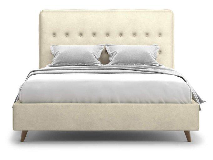 Кровать Bergamo бежевого цвета 160x200