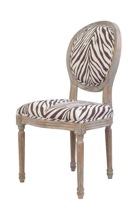 Стул Miro Zebra с мягкой обивкой