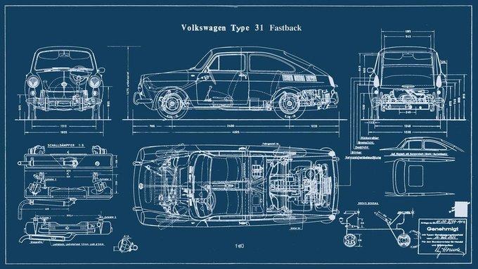 """Картина """"Volkswagen"""""""