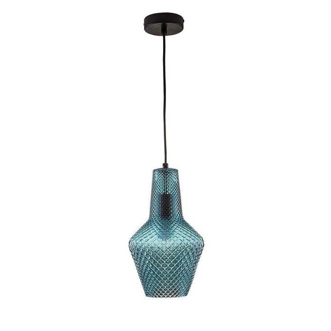 Подвесной светильник Tommy синего цвета