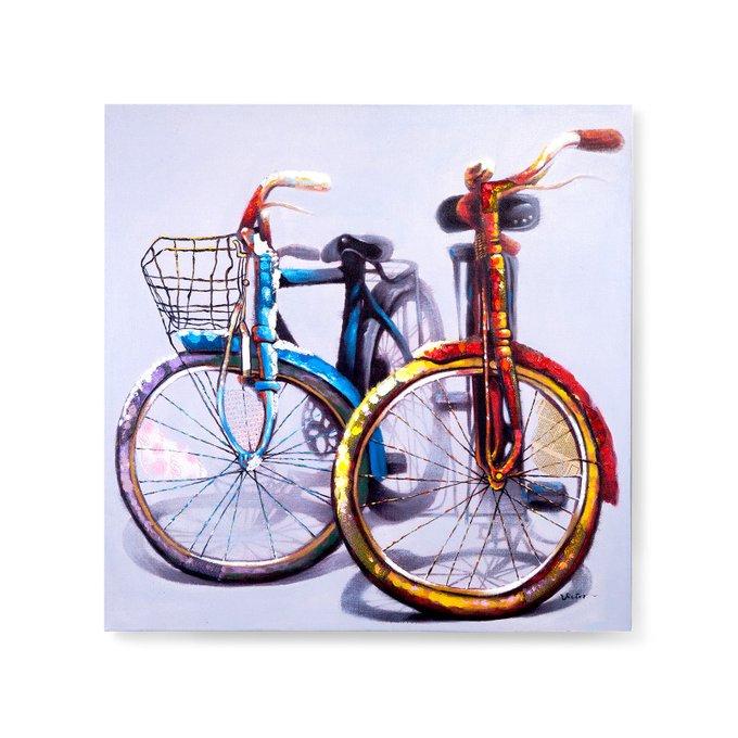 Картина Pair Bikes на холсте