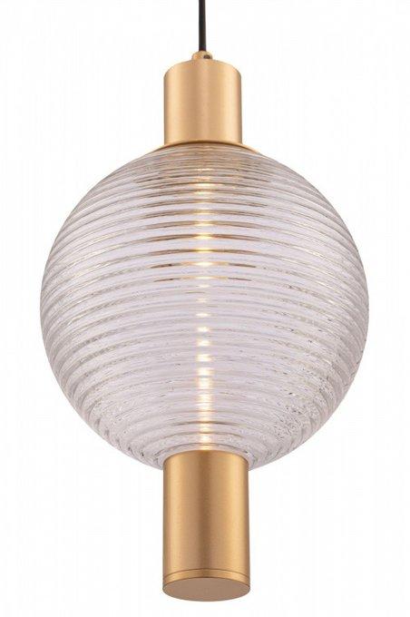 Подвесной светильник Rueca из металла и стекла