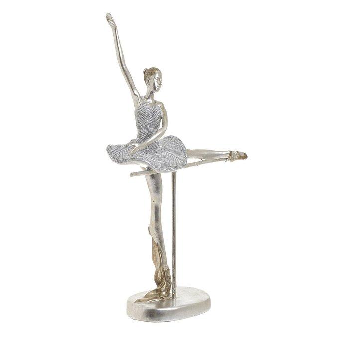 Статуэтка Балерина серебристого цвета