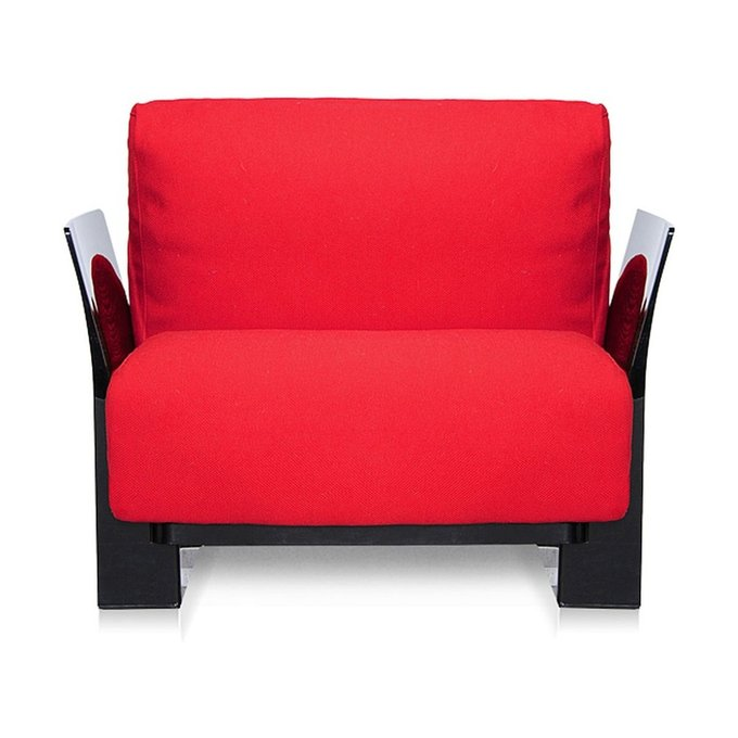 Кресло Pop красного цвета