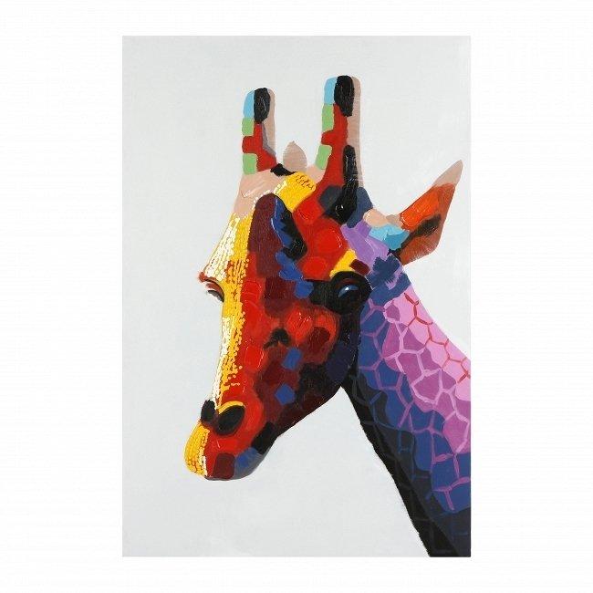 Картина на холсте Giraffe с подрамником 80х120