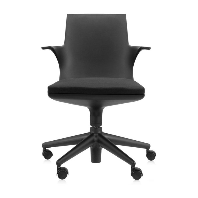 Кресло Spoon черного цвета