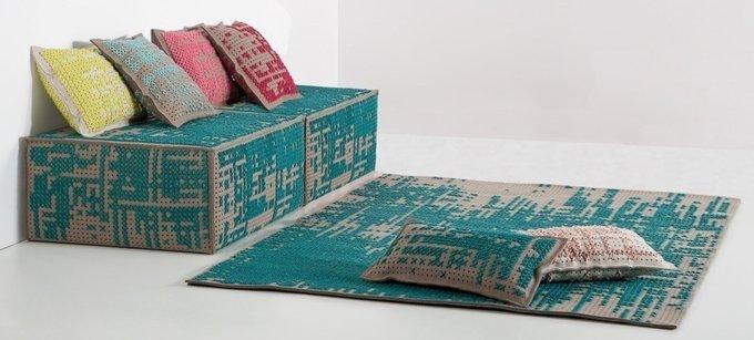 Ковер Gan Abstract из 100% шерсти 80х145 см