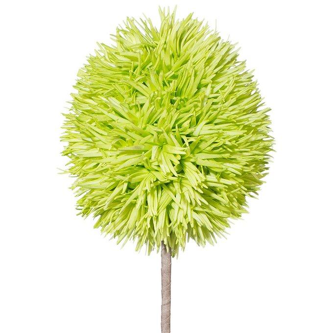 Искусственный цветок Allium салатового цвета