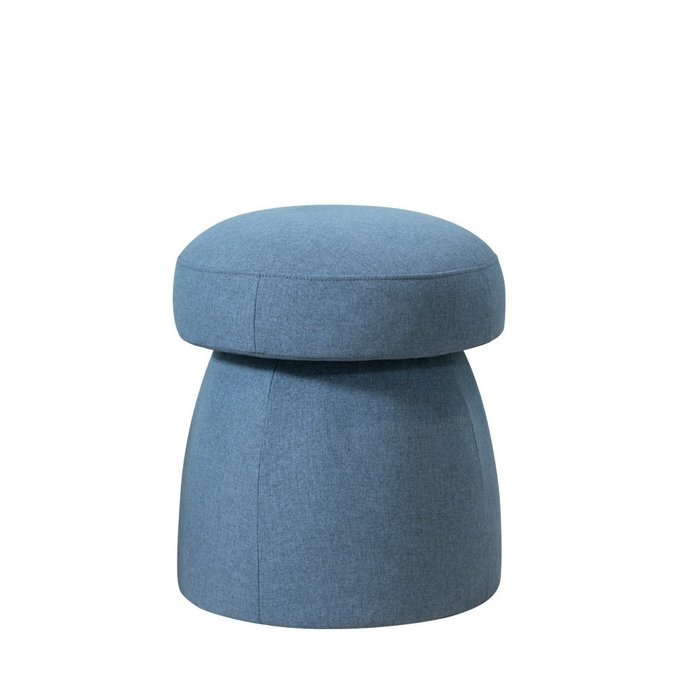 Пуф Togo синего цвета