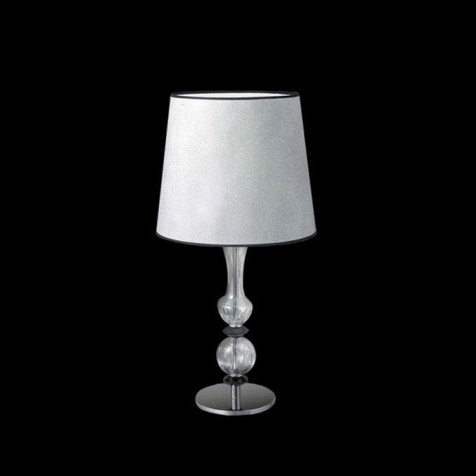 Настольная лампа Masiero с белым абажуром