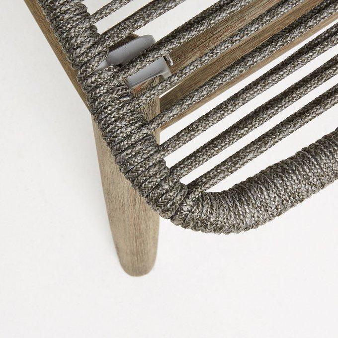 Кресло Kubic серого цвета