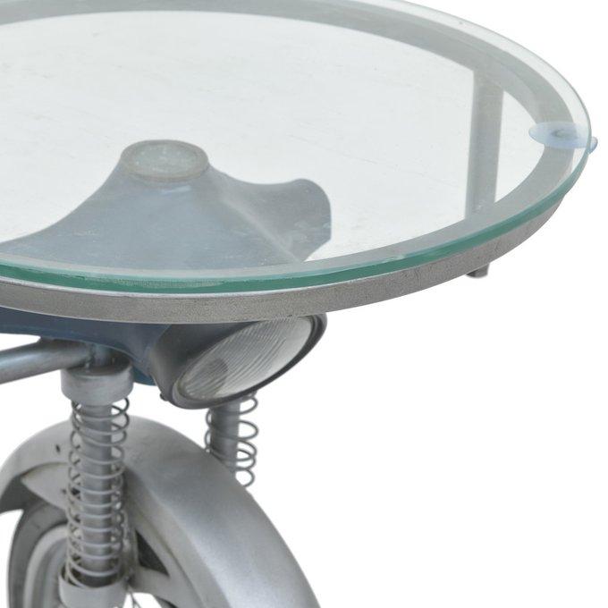 Барный столик со стеклянной столешницей