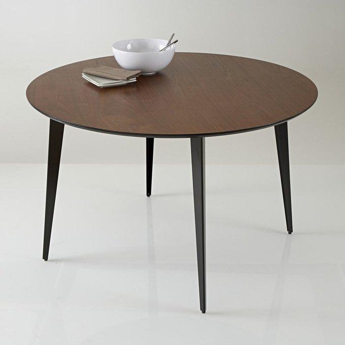 Обеденный круглый стол Watford в винтажном стиле