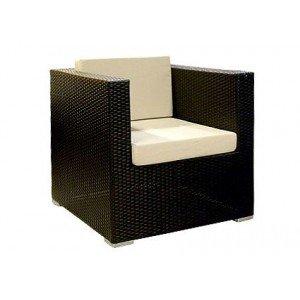 Плетеное кресло GARDA-1007 R кресло с 2-мя подушками