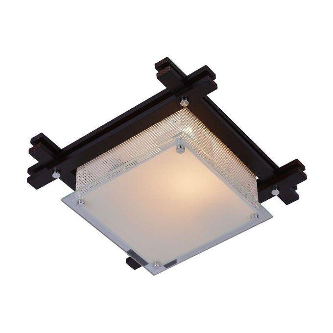 Потолочный светильник Archimede из металла и стекла
